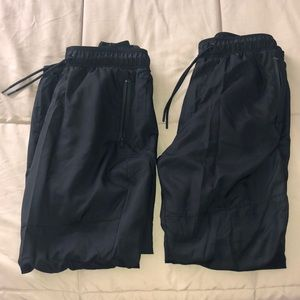 Two H&M Black Joggers